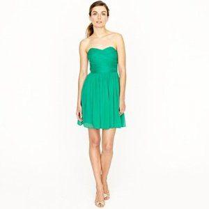J Crew Arabelle Silk Chiffon Dress- Size 8 EUC